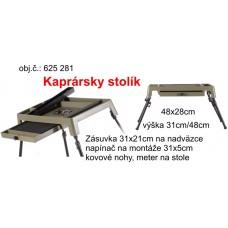 Multifunkčný kaprársky stolík na výrobu nadväzcov