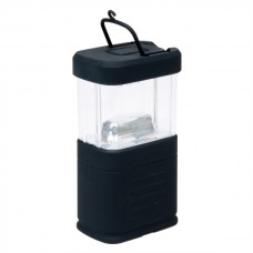 Camping rybárska lampa 11 LED hranatá