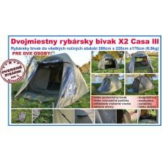 SPORTS, Bivak rybársky X2 Casa III