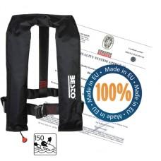 záchranná vesta AUTOMATIC čierna 190N / 50+kg