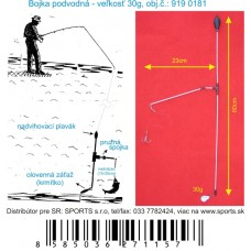 Podvodná bójka 30g/60cm/23cm