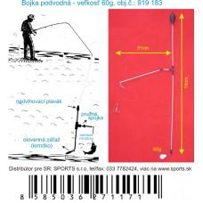 Podvodná bójka 60g/74cm/31cm